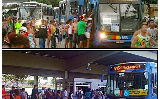 Thoughts on Rice & Beans and Public Transport in Brazil