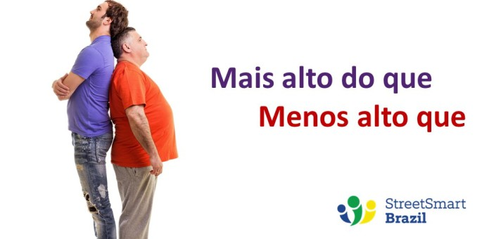 Here's How to Make Comparisons in Portuguese