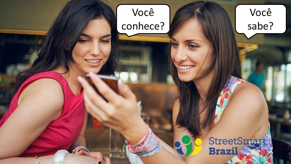 Saber and Conhecer: Here's How to Use Them Correctly - Portuguese lesson