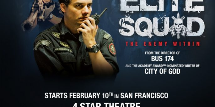 Win 2 Tickets to Watch Elite Squad 2
