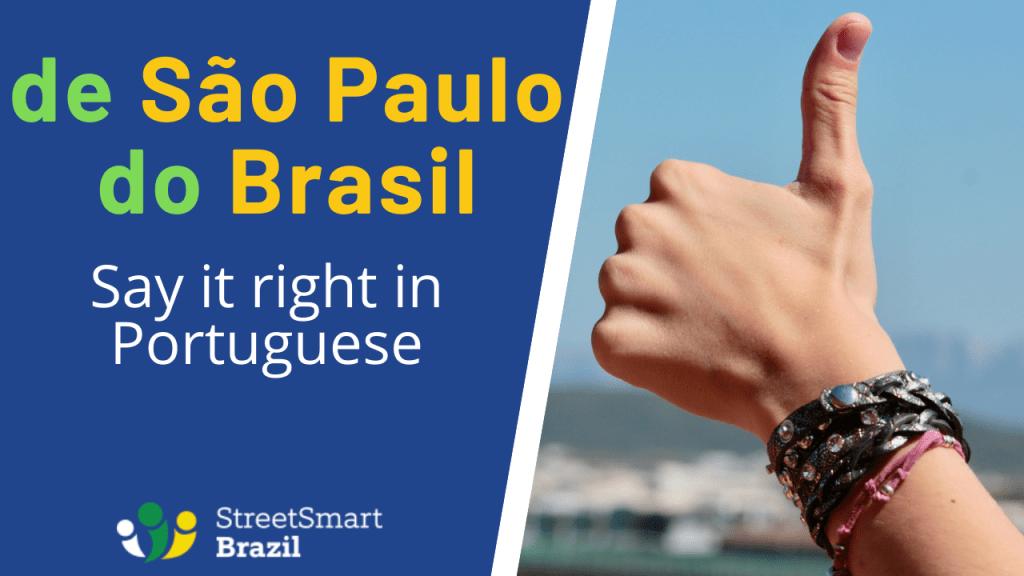 Learn the correct preposition in Portuguese - Portuguese lesson
