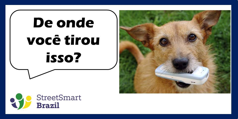 Portuguese Lesson: 2 Useful Phrases for Moments of Surprise