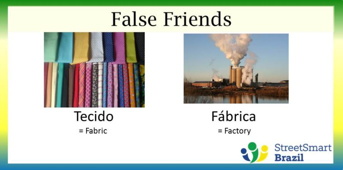 How to Say Fabric in Portuguese – False friends