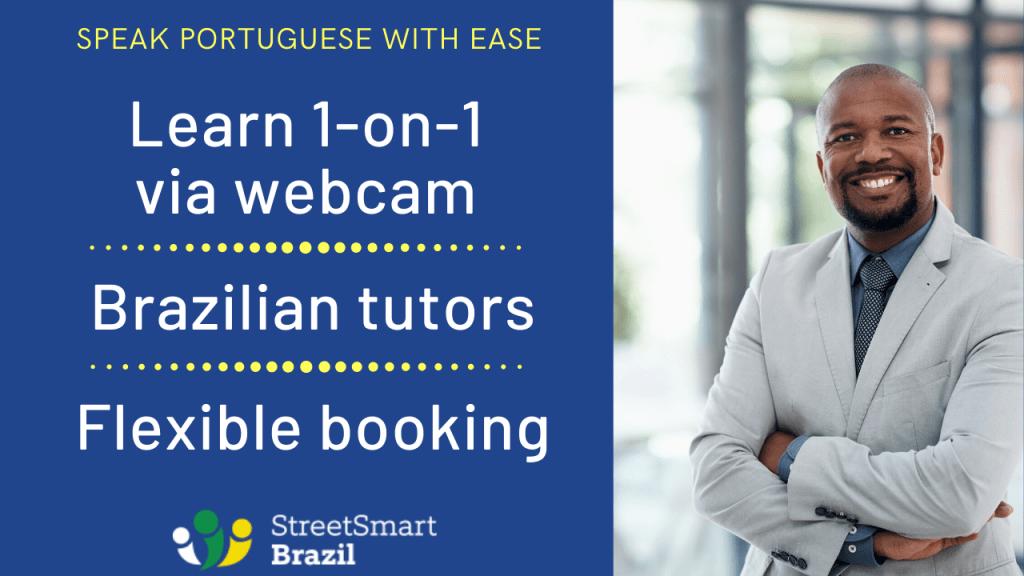 1-on-1 portuguese lessons via webcam, via skype - speak portuguese with ease 2