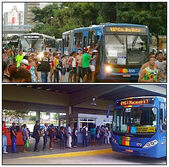 Thoughts on Rice & Beans and Public Transport in Brazil | Street ...