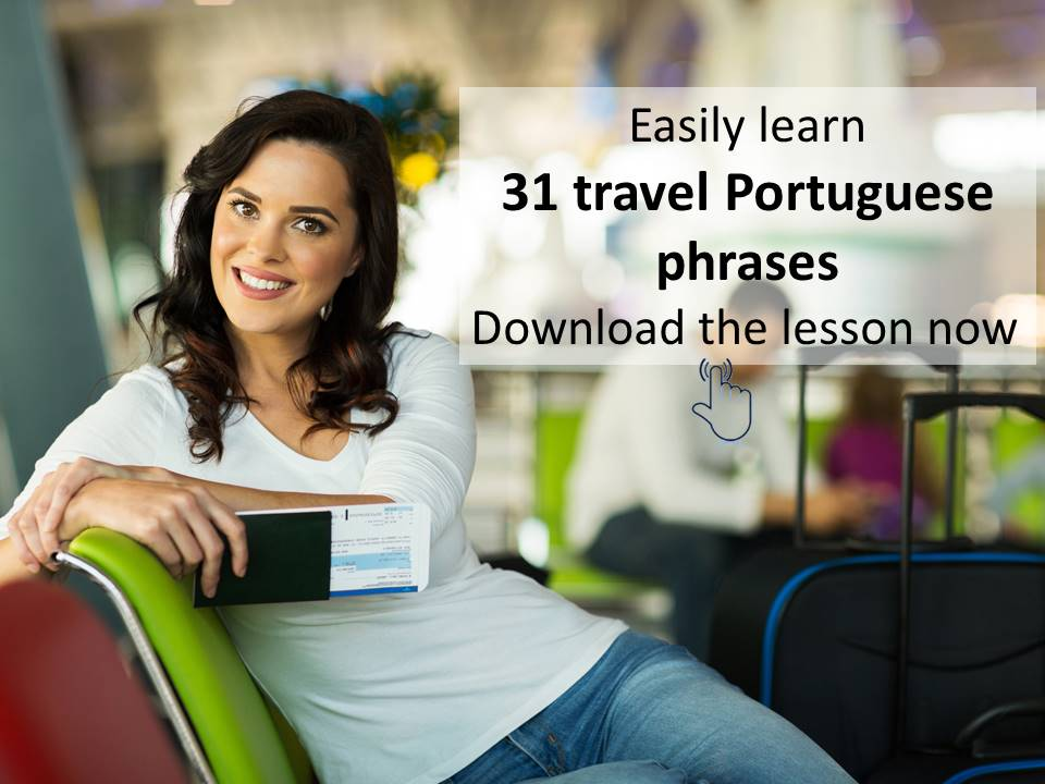 Travel Portuguese lesson