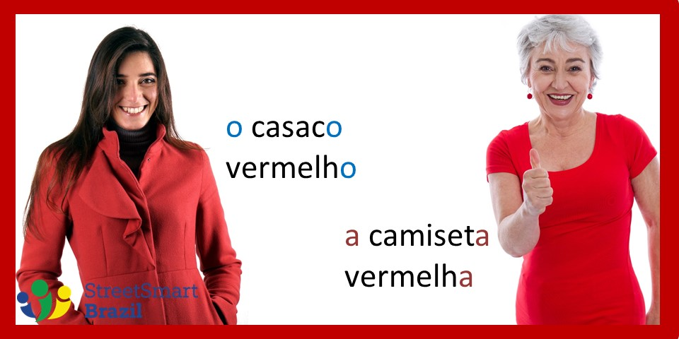 Gender of Adjectives in Portuguese