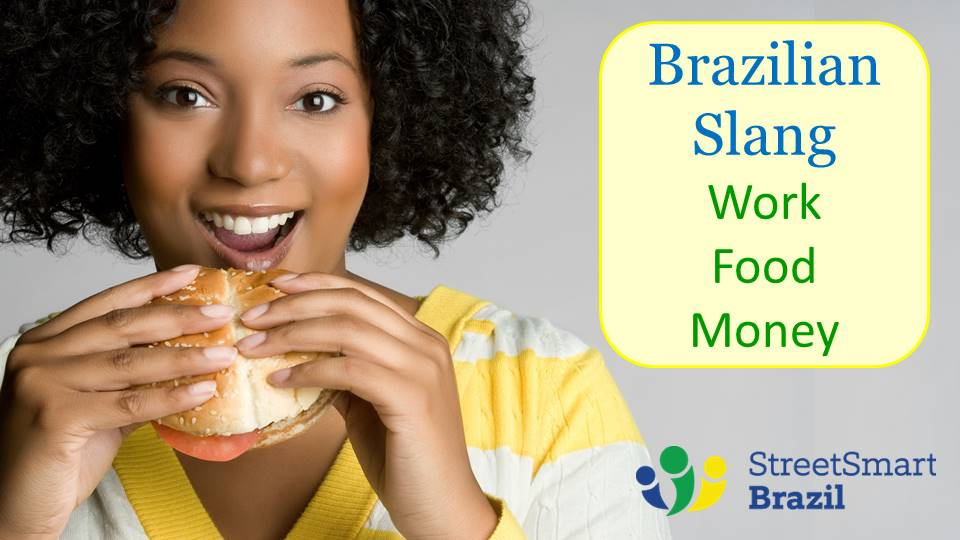 Everyday Brazilian Slang: Work, Food, Money - Portuguese lesson