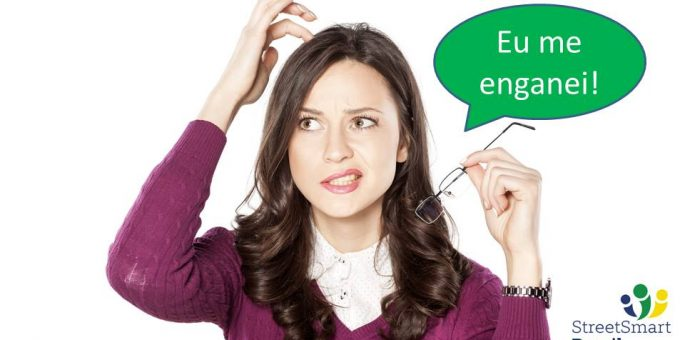 4 different ways to use the verb Enganar with different meanings in Portuguese