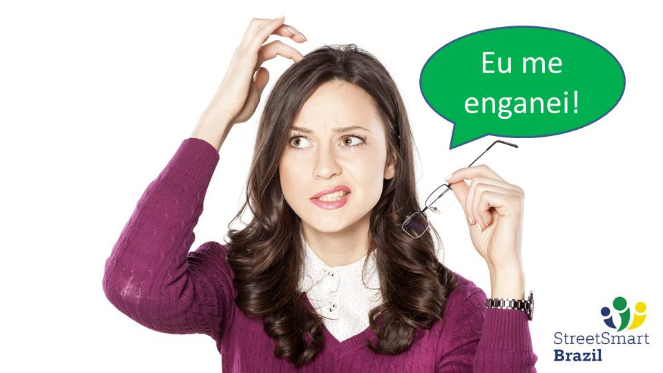 4 different ways to use the verb Enganar with different meanings in Portuguese - Portuguese lesson