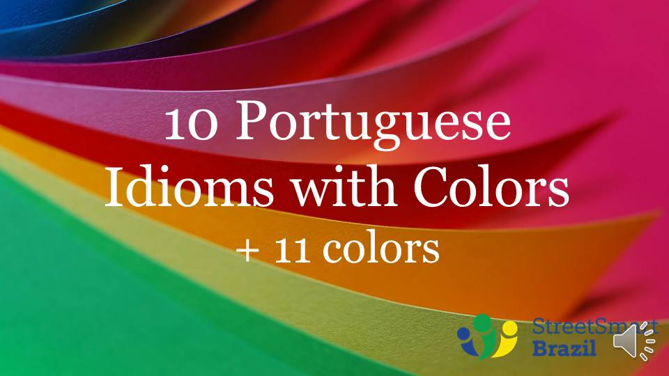 The Colors in Portuguese - Brazilian Portuguese lesson