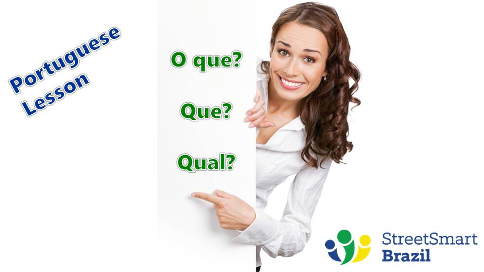 Learn how to use question words in Portuguese