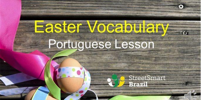 Portuguese lesson - Easter Vocabulary in Portuguese - video lesson