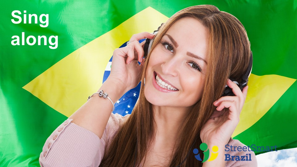 how to learn verb conjugation with brazilian songs - portuguese lesson