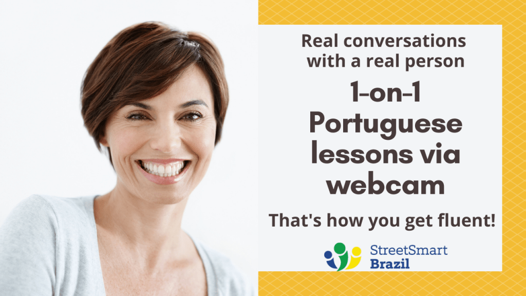 Brazilian Portuguese lessons online