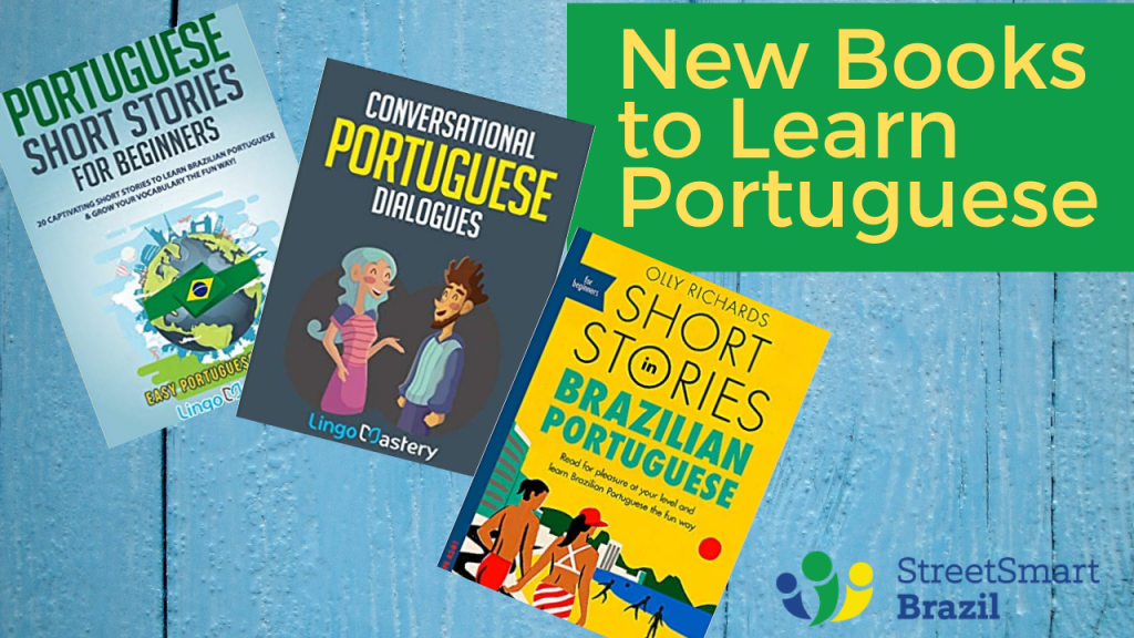 5 new books to Learn Portuguese - Brazilian Portuguese - 1-on-1 portuguese lessons via webcam