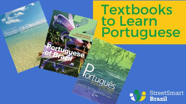 Textbooks to learn portuguese - Brazilian Portuguese