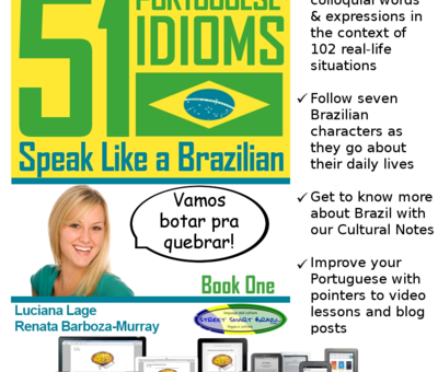 51 Portuguese Idioms: Our First Book is Launched