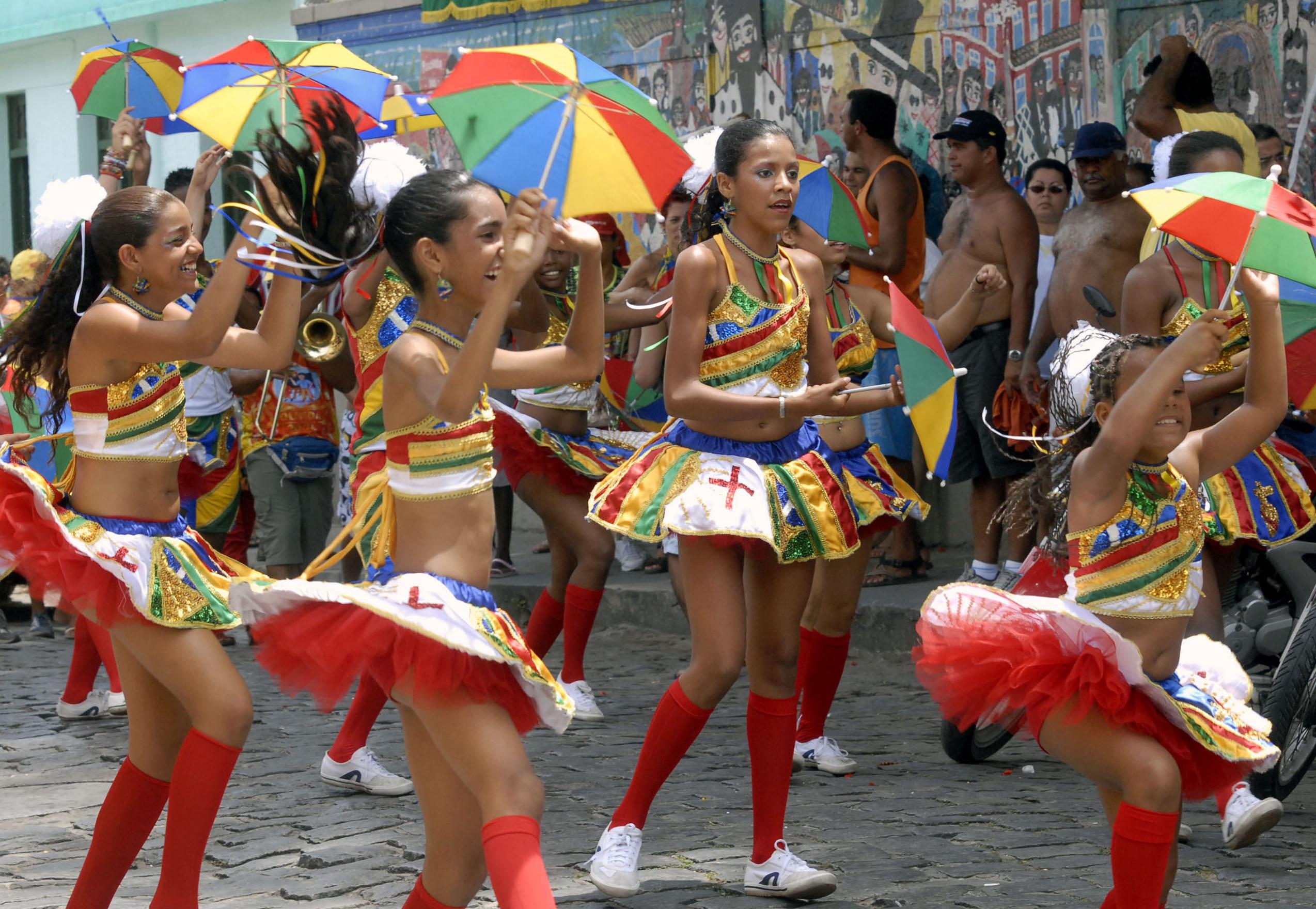 Carnival in Recife Frevo