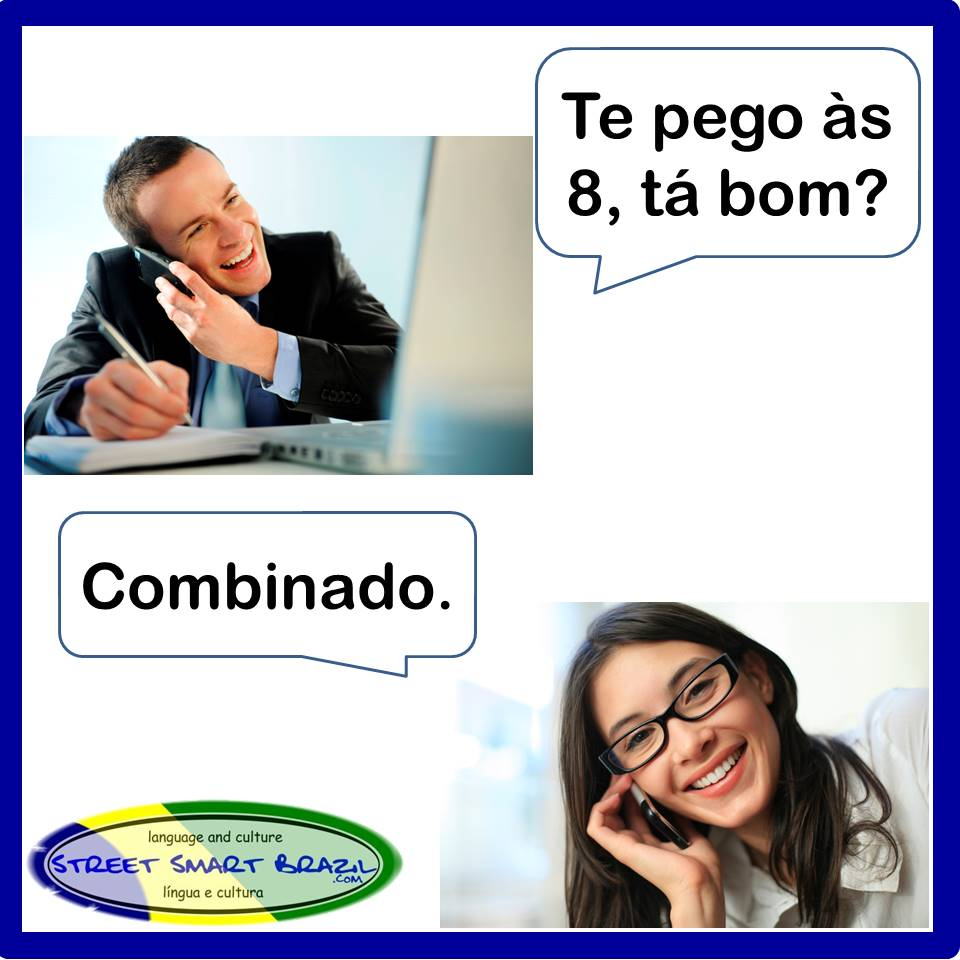 Learn Portuguese Making Plans with Friends - Combinado